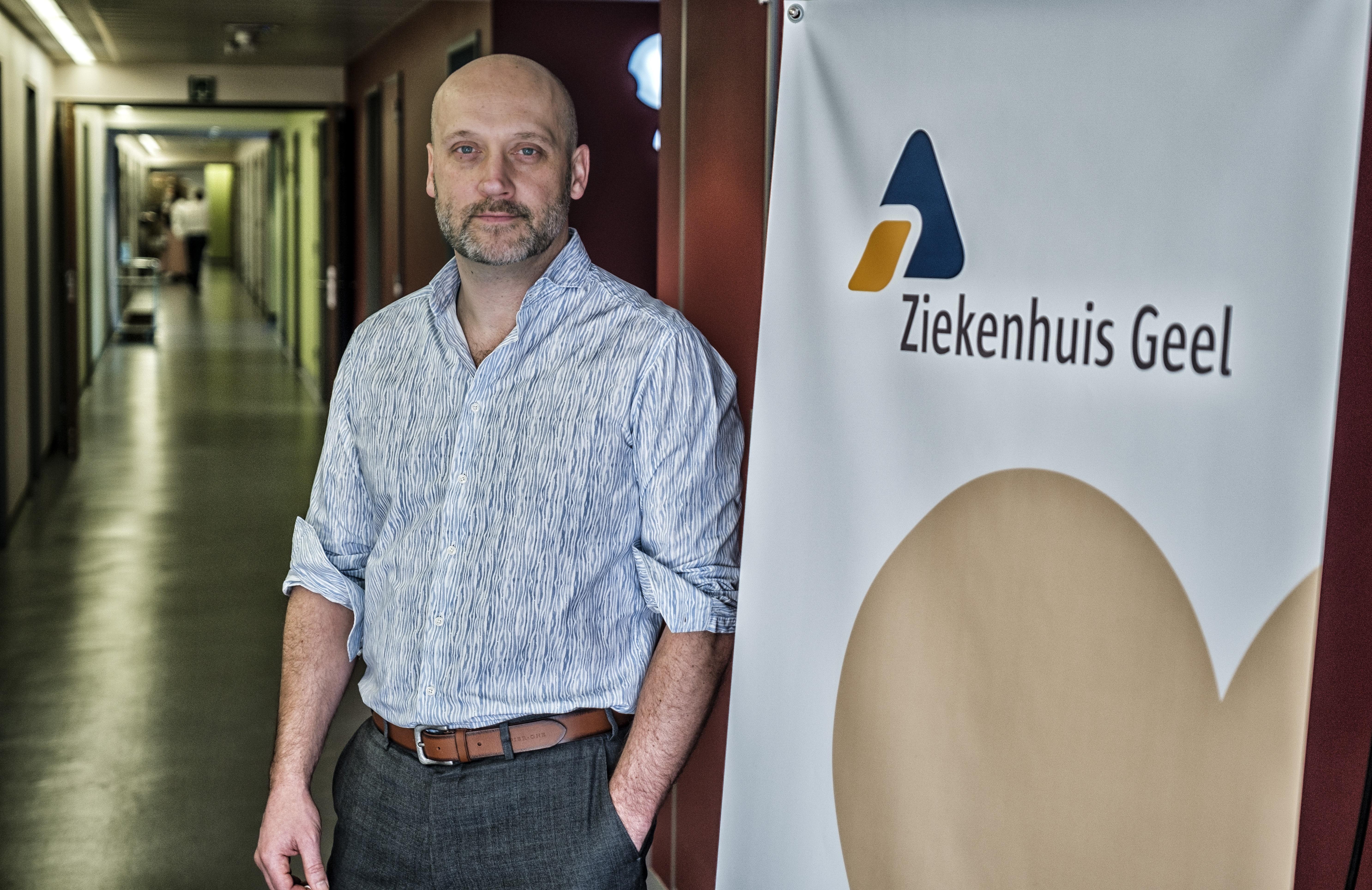 Jan Flament, CEO of Geel Hospital (Belgium)
