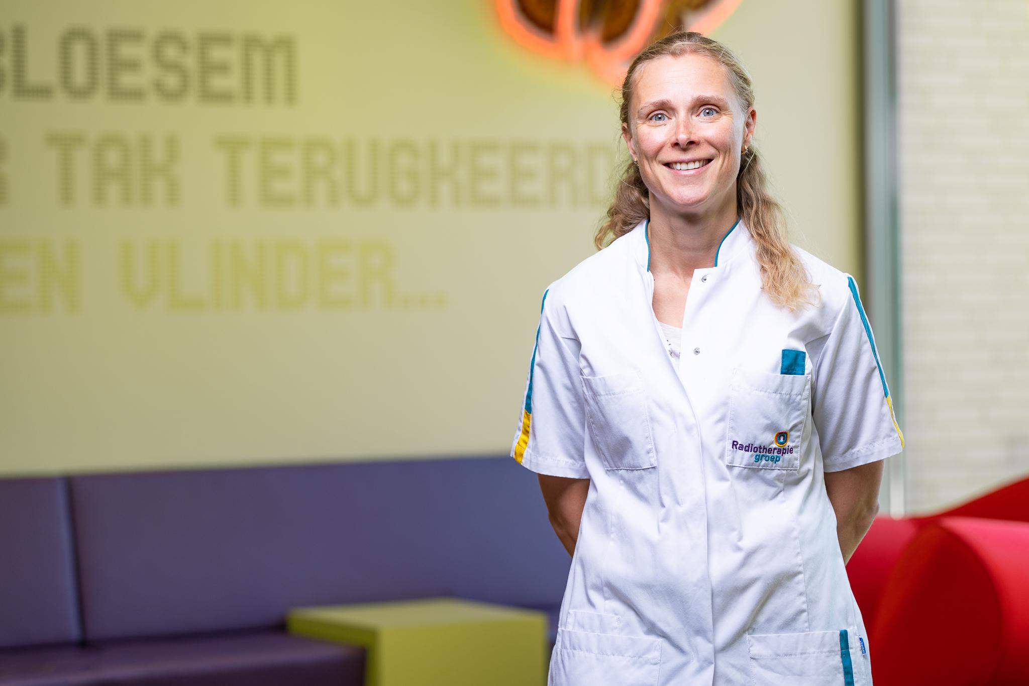 Radiation oncologist Dorien Haverkort