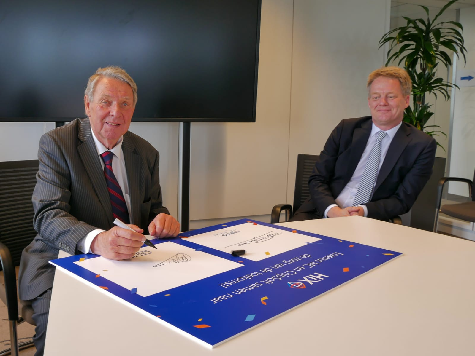 Erasmus MC tekende voor elektronisch patiëntendossier (EPD) HiX 6.2