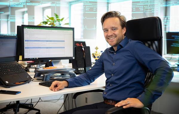 Jeroen van der Aa als Pre Sales Consultant