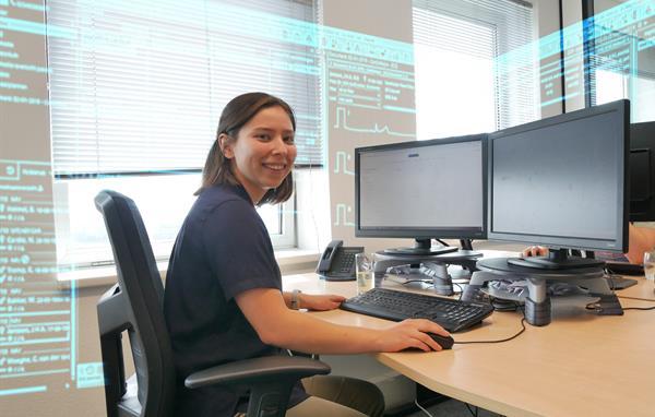 Emily Mes, werkstudent bij ChipSoft
